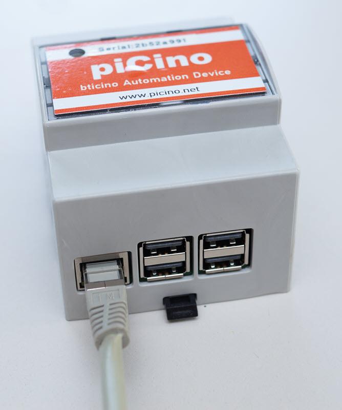 piCino Dinrail Set